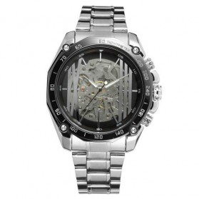 Forsining Jam Tangan Mechanical Luxury Pria - SLZe91 - Black