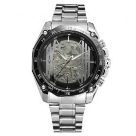 Forsining Jam Tangan Mechanical Luxury Pria - SLZe91 - Black - 1