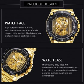 Forsining Jam Tangan Mechanical Luxury Pria - SLZe91 - Black - 3