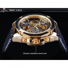 Forsining Jam Tangan Mechanical Luxury Pria - SLZe100 - Black/Black - 5
