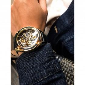Forsining Jam Tangan Mechanical Luxury Pria - SLZe100 - Black/Black - 10