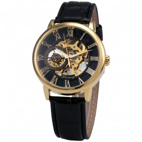 Forsining Jam Tangan Mechanical Luxury Pria - SLZa26 - Black