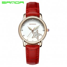 Sanda Jam Tangan Analog Wanita - SD-P200 - Red