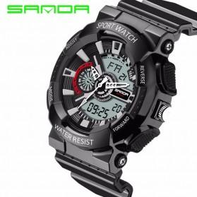SANDA Jam Tangan Sporty Pria - SD-799 (backup) - Black