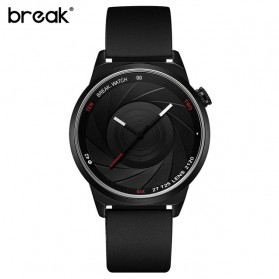 BREAK Jam Tangan Analog Pria - T25 - Black