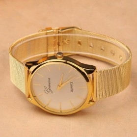 Geneva Jam Tangan Analog - YQ001GD - White/Gold - 2