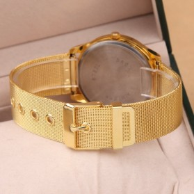 Geneva Jam Tangan Analog - YQ001GD - White/Gold - 4