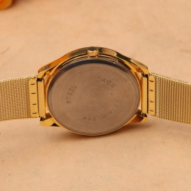 Geneva Jam Tangan Analog - YQ001GD - White/Gold - 5