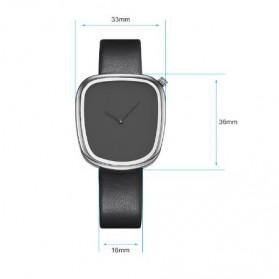 SINOBI Jam Tangan Analog Wanita - 9705 - Black/Silver - 4