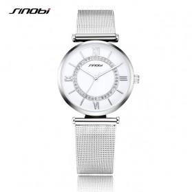 SINOBI Jam Tangan Analog Wanita - 9631 - Silver