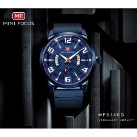 MINI FOCUS Jam Tangan Analog Pria - MF0149G - Black - 6