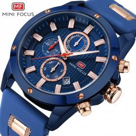 MINI FOCUS Jam Tangan Analog Pria - MF0089G - Blue - 2