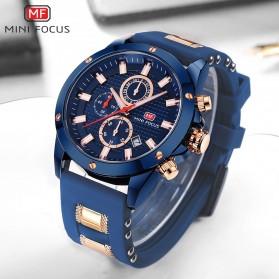 MINI FOCUS Jam Tangan Analog Pria - MF0089G - Blue - 3