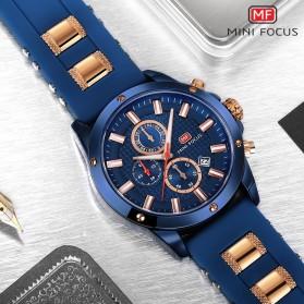 MINI FOCUS Jam Tangan Analog Pria - MF0089G - Blue - 4