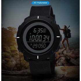 SYNOKE Jam Tangan Digital Pria Pedometer - 9101 - Black