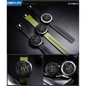 SYNOKE Jam Tangan Digital Sporty Pria - 9658 - Black - 10