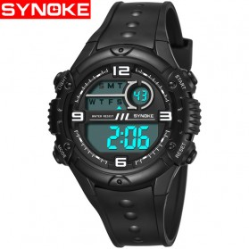 SYNOKE Jam Tangan Digital Sporty Pria - 9628 - Black - 1
