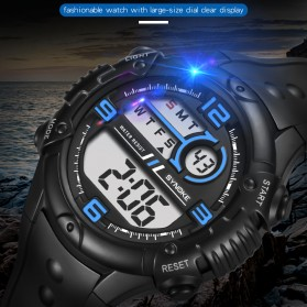 SYNOKE Jam Tangan Digital Sporty Pria - 9628 - Black - 2