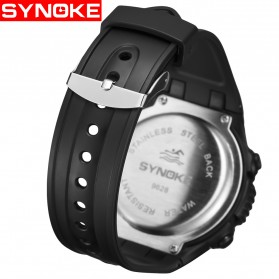 SYNOKE Jam Tangan Digital Sporty Pria - 9628 - Black - 3