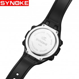 SYNOKE Jam Tangan Digital Sporty Pria - 9628 - Black - 4
