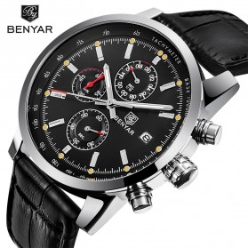 BENYAR Bergani Jam Tangan Analog - BY-5102M - Black