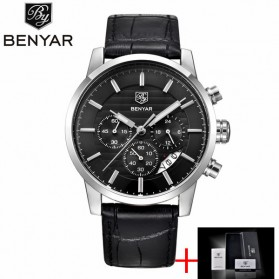 BENYAR Bergani Jam Tangan Analog - BY-5104M - Black