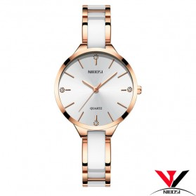 NIBOSI Jam Tangan Luxury Wanita - NI2330 - Rose Gold - 1