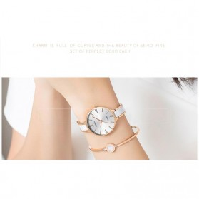 NIBOSI Jam Tangan Luxury Wanita - NI2330 - Rose Gold - 6