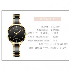 NIBOSI Jam Tangan Luxury Wanita - NI2330 - Rose Gold - 7