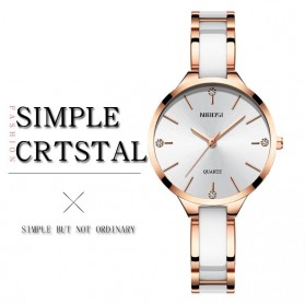 NIBOSI Jam Tangan Luxury Wanita - NI2330 - Rose Gold - 8