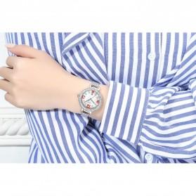 NIBOSI Jam Tangan Luxury Wanita - 2317-3 - White/Silver - 3