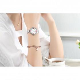 NIBOSI Jam Tangan Luxury Wanita - 2317-3 - White/Silver - 4