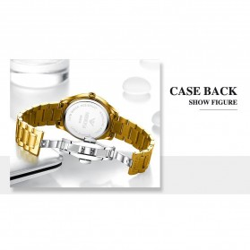 NIBOSI Jam Tangan Kasual Luxury Pria - 2315 - Golden - 2