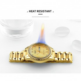 NIBOSI Jam Tangan Kasual Luxury Pria - 2315 - Golden - 4