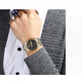 NIBOSI Jam Tangan Kasual Luxury Pria - 2315 - Golden - 8