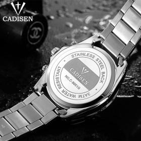 Cadisen Jam Tangan Analog Chrono Pria - C9051 - Silver - 3