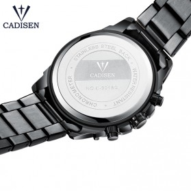 Cadisen Jam Tangan Analog Chrono Pria - C9018 - Silver - 3