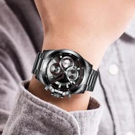 Cadisen Jam Tangan Analog Pria Strap Stainless Steel - C9016 - Black - 7