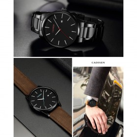 Cadisen Jam Tangan Analog Pria PU Leather - C2021m - Brown - 4