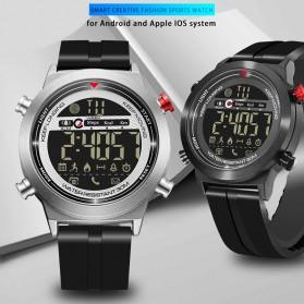 JeiSo Jam Tangan Digital Smartwatch - WQJ-026-SL-B - Black - 3