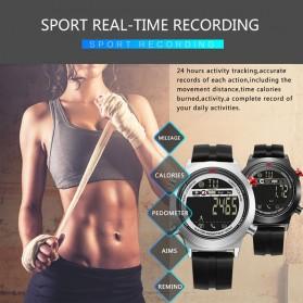 JeiSo Jam Tangan Digital Smartwatch - WQJ-026-SL-B - Black - 4