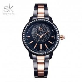 Shengke Jam Tangan Wanita Quartz Fashion - K0075 - Black
