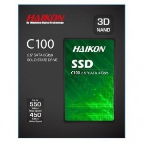Hikvision C100 SSD Solid State Drive 2.5 Inch 240GB SATA III - Black - 3