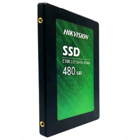 Hikvision C100 SSD Solid State Drive 2.5 Inch 480GB SATA III - Black - 2