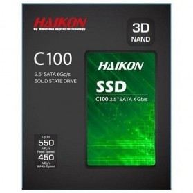 Hikvision C100 SSD Solid State Drive 2.5 Inch 480GB SATA III - Black - 3
