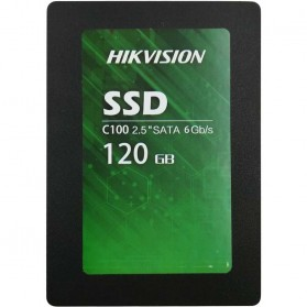 Laptop / Notebook - Hikvision C100 SSD Solid State Drive 2.5 Inch 120GB SATA III - Black