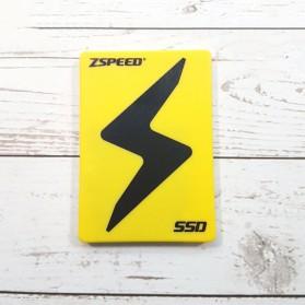ZSPEED Z3 ADV SSD Solid State Drive 2.5 Inch 480GB - ADV-480G - Black - 2
