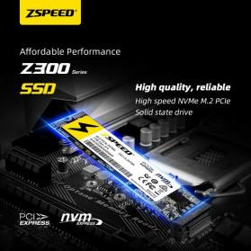 ZSPEED Z300 SSD NVMe M.2 PCIe 256GB - NVME-256G - Black - 3