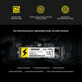 ZSPEED Z300 SSD NVMe M.2 PCIe 256GB - NVME-256G - Black - 4