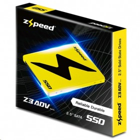 ZSPEED Z3 ADV SSD Solid State Drive 2.5 Inch 128GB - ADV-128G - Black